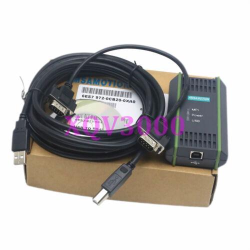 Programming Cable for USB//MPI Siemens S7 PC Adapter Profibus//MPI//PPI Win7 64bit