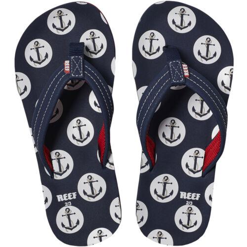 Reef Boys Ahi Kids Pool Beach Holiday Flip Flops Thongs Sandals