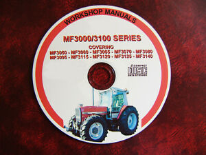 Massey Ferguson 3000/3100 Tracteur Workshop Service Repair Manual-afficher Le Titre D'origine 0o54ruqt-07215303-414466501