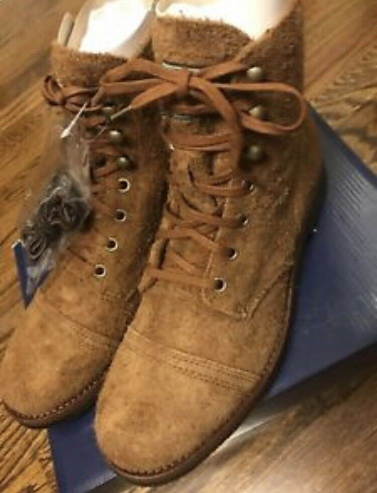 Polo Ralph Lauren Enville Suede Toe-cap Khaki Military Stiefel Größe UK8 US9 EU42