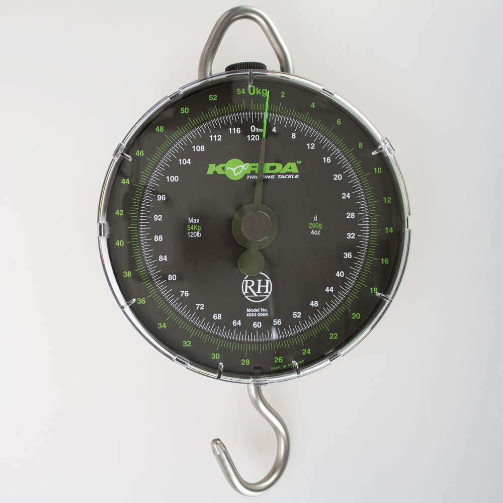 Korda Limited Edition Scales Bilancia Bilancia da pesca zugwaage sospesa Bilancia Valigia Bilancia