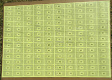 Monopoly Money, Original Uncut Sheet, $10 Bills, Parker Brothers