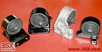 Dodge Stealth Engine Motor Mounts Replacement Rubber Set Of 4