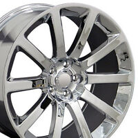 Set Of (4) 20 Chrome Chrysler 300 Srt Replica Wheels Rims 20x9 Dodge Srt8 300c