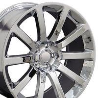 Set Of (4) 20 Chrome Chrysler 300 Srt Replica Wheels Rims 20x9 Dodge Srt8 300c