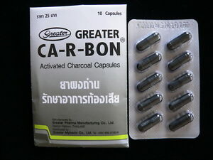 activated charcoal carbon absorbing excessive flatulence gas anti