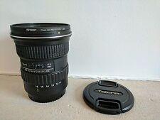 Tokina en-PRO 116 11-16mm f/2.8 AF X DX lente + Protector de Uv Tiffen
