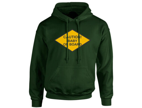 Caution Baby On Board Unisex Hoodie 8 Colours