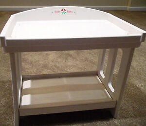 Image Is Loading Baby Doll Changing Table With Pad American Girl