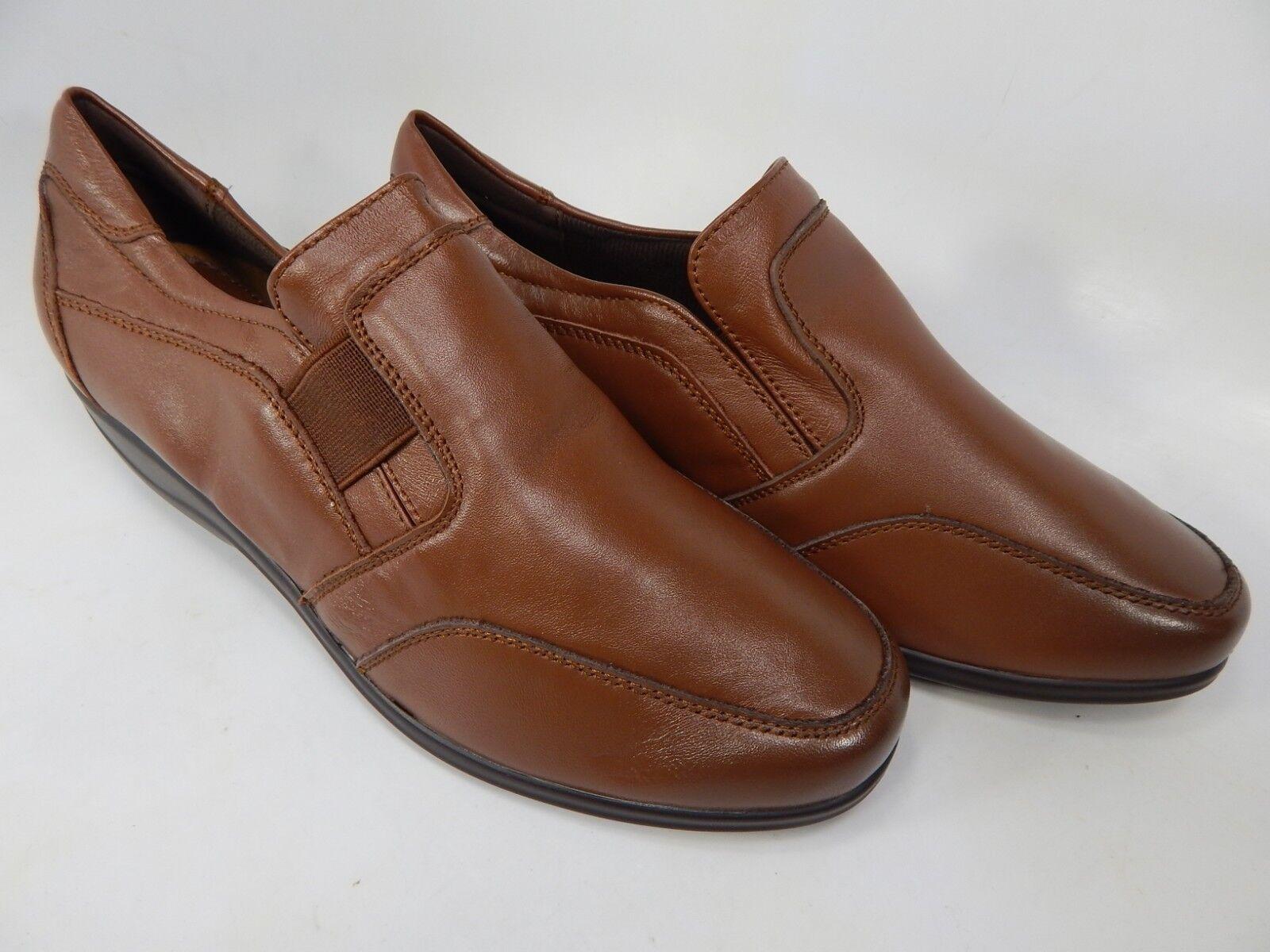 Propet Melinda Size 7 M (B) Women's Leather Loafers shoes Brown WCX024L