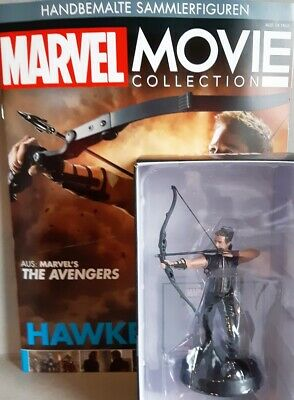Marvel Avengers MARVEL MOVIE COLLECTION #15 Hawkeye Figur FIGURINE EAGLEMOSS