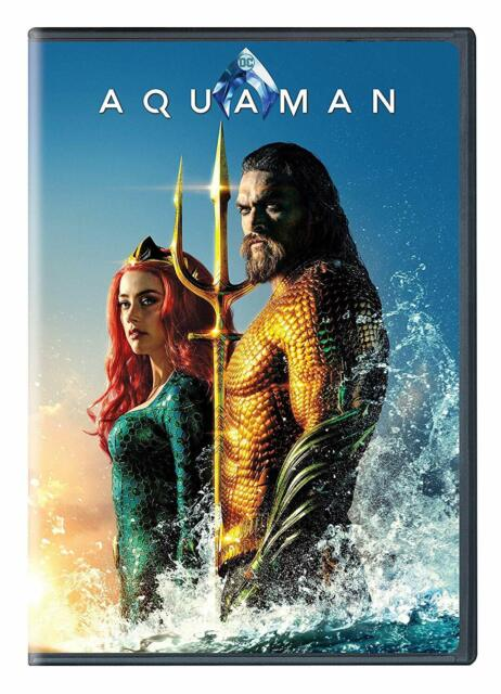 Aquaman Dvd 2019 Special Edition For Sale Online Ebay