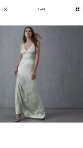 Robe 14 Reiss Maxi 75 Taille Menthe 00 € 350 Couleur Avec Perles € OwqnxOfBr