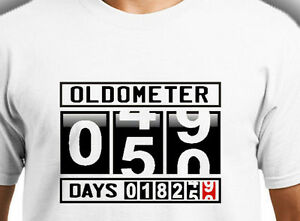 Image Is Loading Oldometer 50 Years Old Retirement Happy Birthday Funny