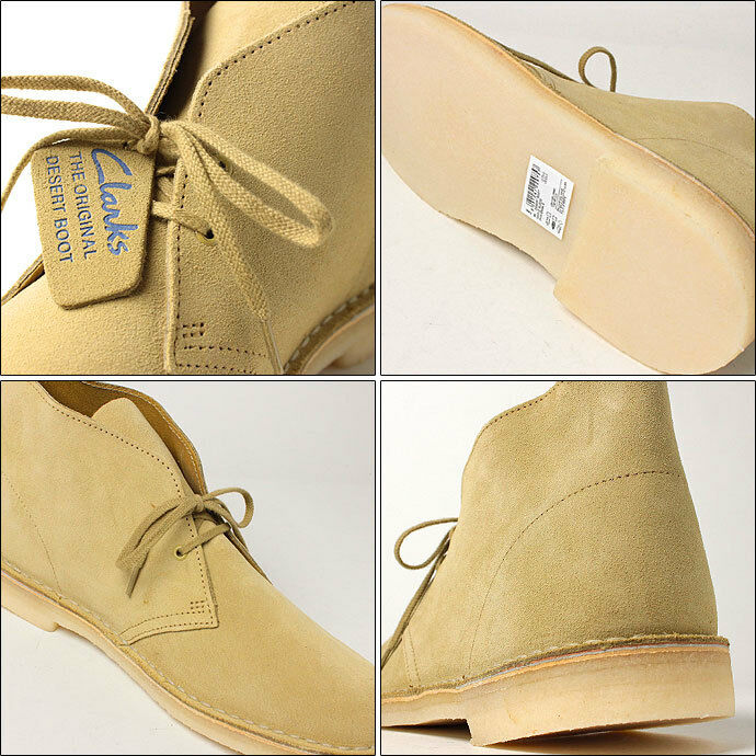 Clarks Originals  X 65 DESERT BOOTS  MAPLE SUEDE   UK 6.5,8,8.5,9,9.5,10 G