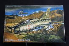 XB008 FUJIMI 1/72 maquette avion 27023 1500 H-23 MiG-21 PF (Later) Indian Tiger