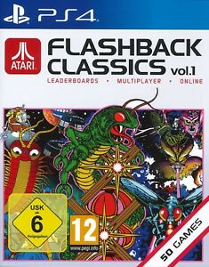 Atari-Flashback-Classics-Collection-Vol-1-For-PS4-New-amp-Sealed