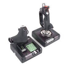 Saitek X52 Pro Flight Simulator System Controller Throttle and Stick for PC