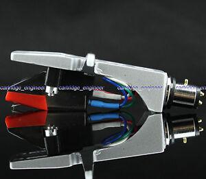 New20-lot-MM-cartridge-silver-Headshell-assembly-transparent-diamond-stylus-5S8S