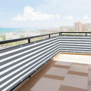 Details about Balcony Privacy Screen Fence Cover Shade Sun Apartment Safe  Protection Outdoor