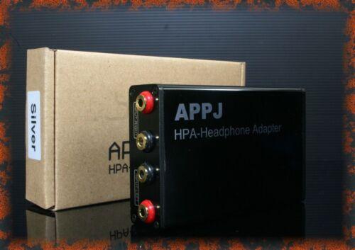 HD800 hi-fi headphone adapter APPJ  Headphone Device black color  freeshipping
