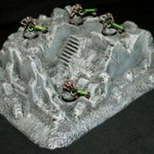 Amera Z211 20 To 28mm Vacuformed Plastic WWII Bombed Out Building