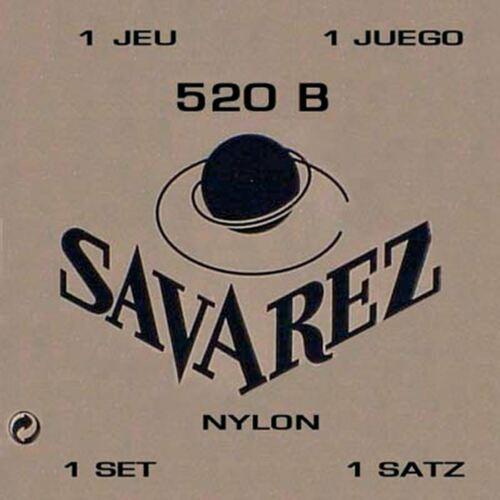 Nylonsaiten für Konzertgitarre Savarez 520B low tension