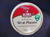 Kiwi Shoe Boot Polish Neutral 50ml