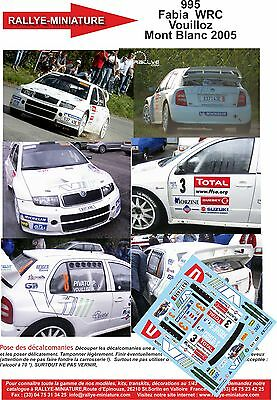 DECALS 1//32 REF 1083 PEUGEOT 307 WRC BENGUE TOUR DE CORSE 2006 RALLYE RALLY