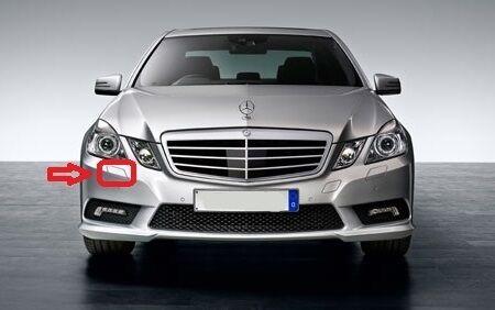 Mercedes MB E W212 Headlight washer cover droit peint par votre code couleur