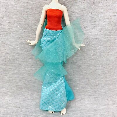 Ever After High Meeshell Mermaid Doll Outfit Clothes Tail Dress Shoes NEW Little