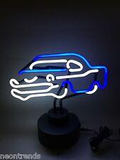 AUTO CARS blue Neon sign Neonleuchte Leuchtreklame Werbung Neonschild Reklame