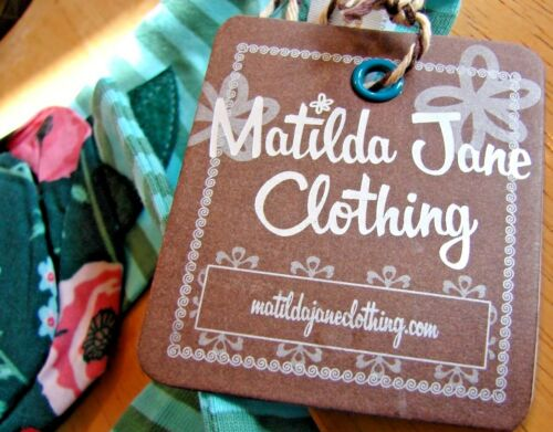 MATILDA JANE TURQUOISE FLOWER LEGEND HEADBAND SASH BRAND NEW WITH TAGS