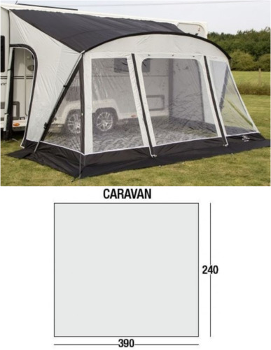 SunnCamp Swift 390 Deluxe Caravan Porch Awning
