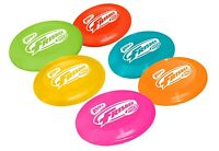 Wham O Disc Golf Mini Frisbee 16 Gram 6 Disc Set Indoor/outdoor Use, 6 Colors on sale