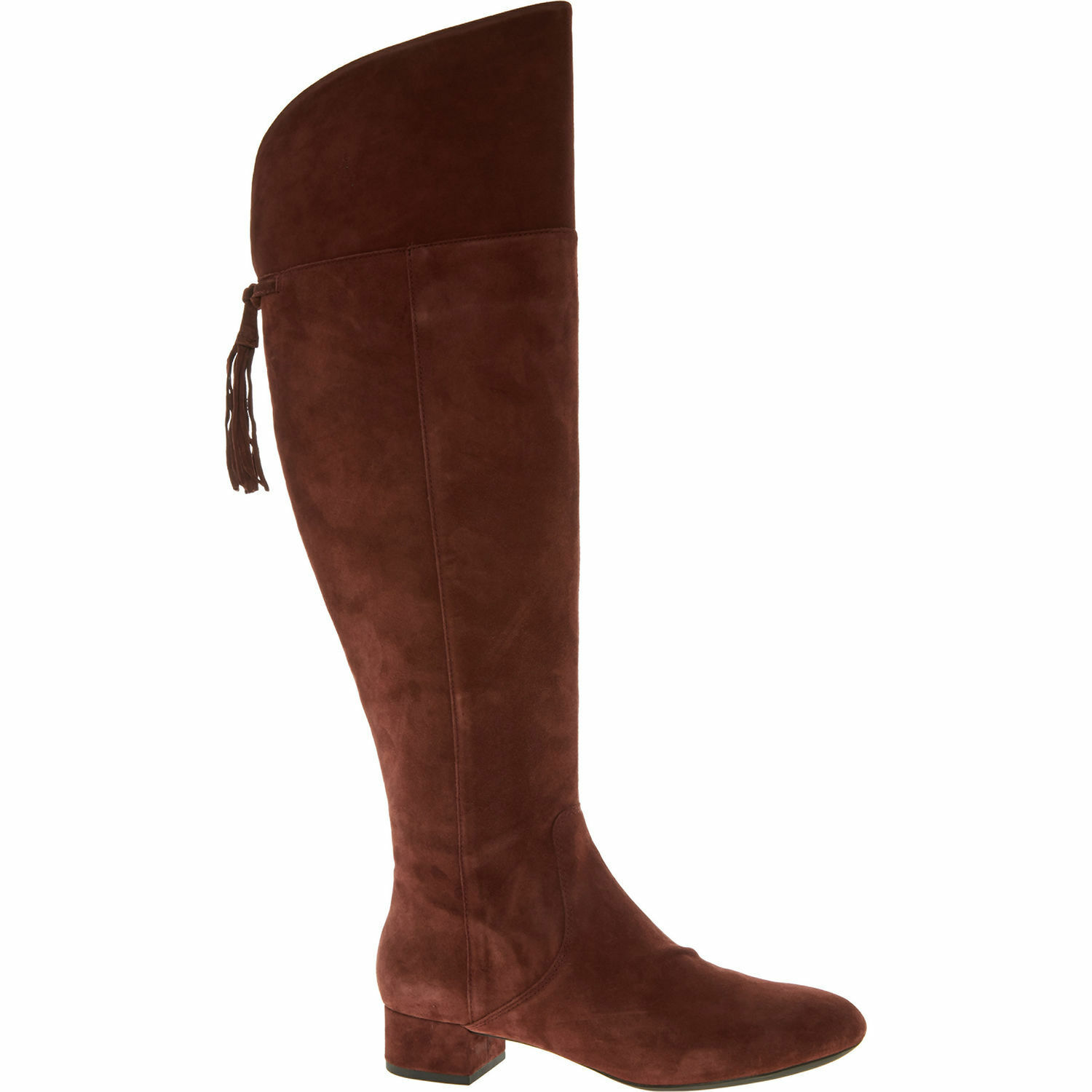GEOX Women's CAREY B Knee High Suede Boots, Colour Cigar, size or UK7