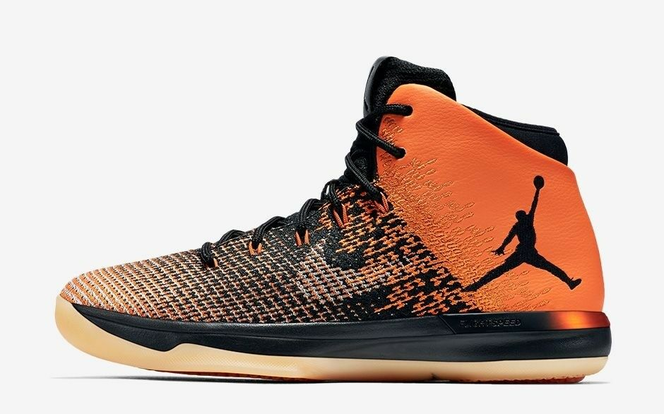 Nike Air Jordan XXXI 31 Shattered Backboard Orange/Black Comfortable The most popular shoes for men and women