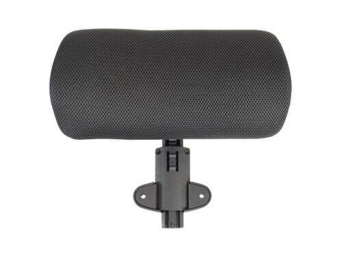 "Headrest Adjustable 1-3/5""x12-3/5""x6"" Black"
