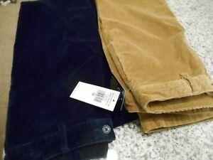 8e44a2fa Details about Polo Ralph Lauren Boys Slim Fit Stretch Corduroy Pants Size  14 16 18 Navy Khaki