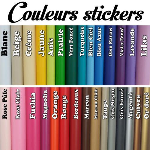 Stickers Muraux Bébé Panda Prénom Personnalisable Choix Taille//Couleur