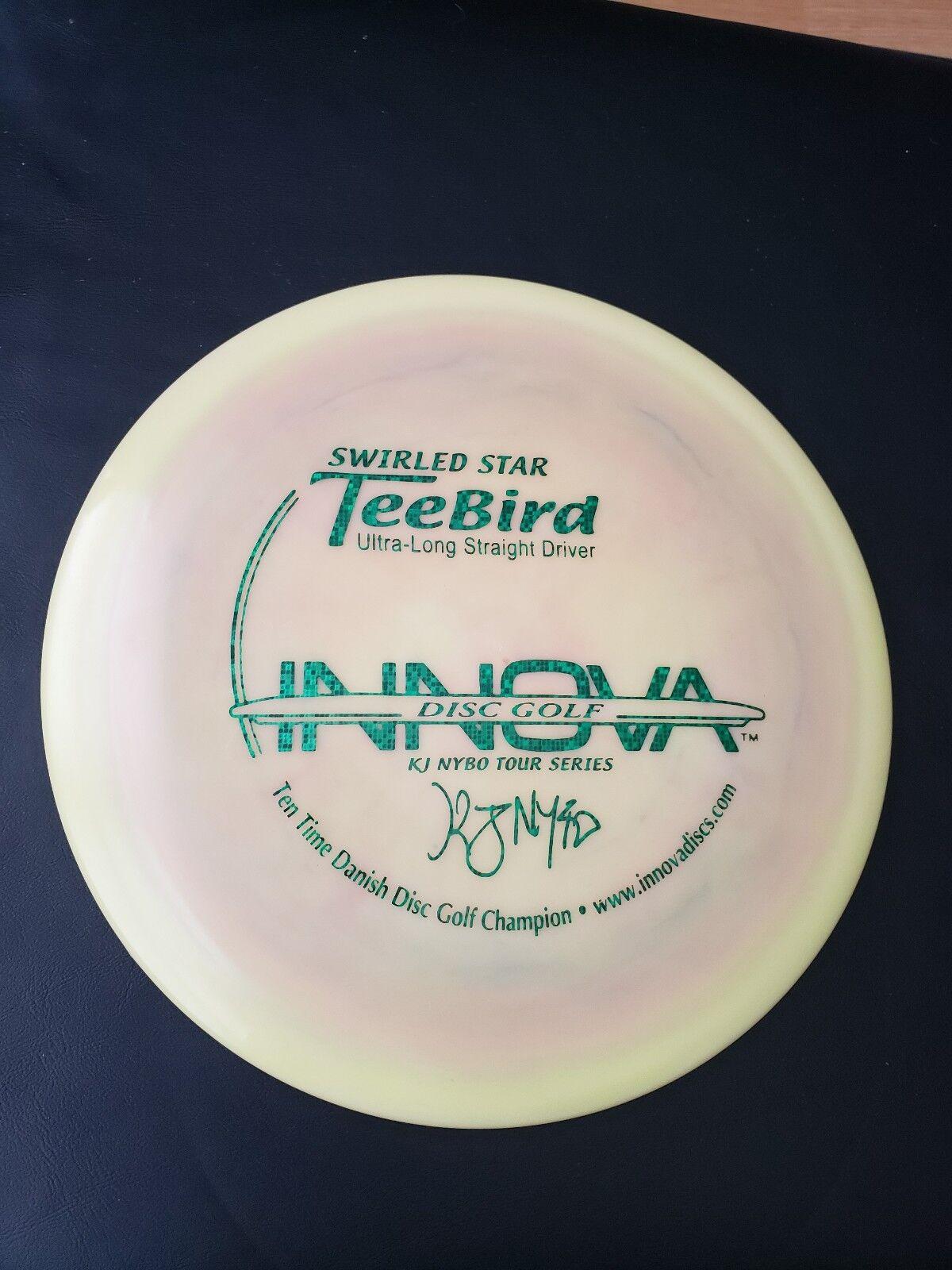 Swirled Disc Nybo 10x Tebbird Disc Swirled Golf 5664fc