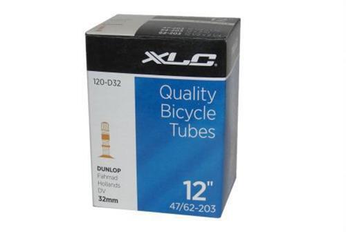 """XLC Fahrradschlauch 12/"""" DV Dunlop Laufrad Kinderwagen"""