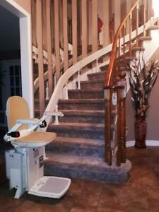 Need a used stair lift?! Installed with warranty. Also chair removals!! Acorn Stannah Bruno Stairlift Chairlift Glide St. Catharines Ontario Preview