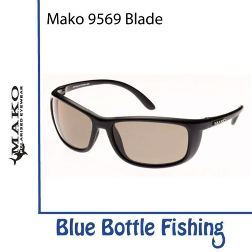 Mako Blade 9569 Matte Black Glass HD Photochromic Brown M01-G1HX