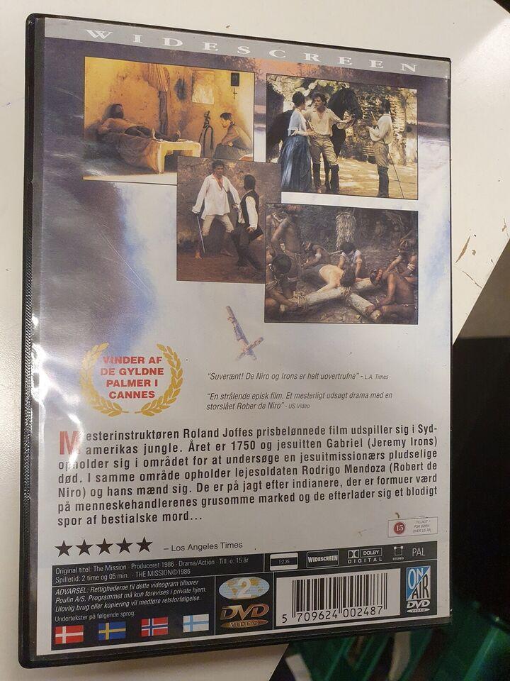 The mission, DVD, drama