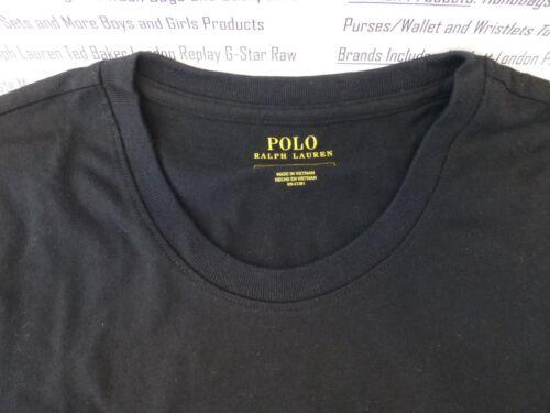 nera Ralph Set Sleepwear shirt M corte lunga Pajama Uk fondo T Lauren maniche e con qpUwcpfXB