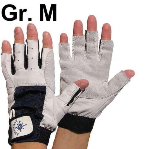 Roadiehandschuhe Leder Gr. M / 8 ohne Finger Arbeitshandschuhe Roadie Handschuhe