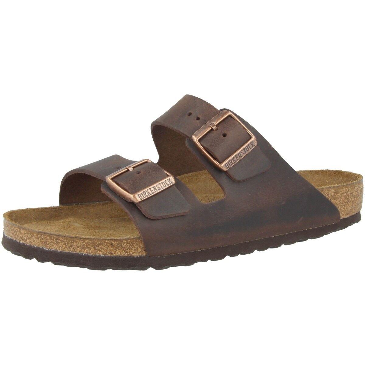 Birkenstock arizona rasurado nubuckleder zapatos weichbettung ancho normal 452761