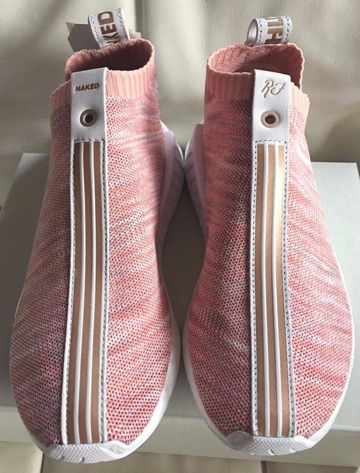 DS Kith x Naked x Adidas Consortium NMD CS2 Boost Pink BY2596 - Men 11.5