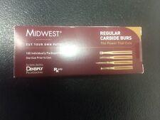 Dental Midwest Carbide Burs Fg 330 100 Burs In A Box 385261